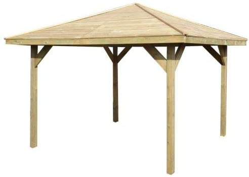 Checo Home And Garden Wooden Gazebo