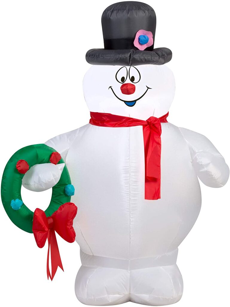frosty the snowman inflatable